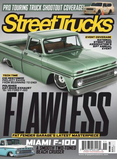 Street Trucks Magazine November 1st, 2020 Issue Cover