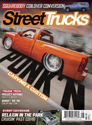 Street Trucks Magazine August 1st, 2021 Issue Cover