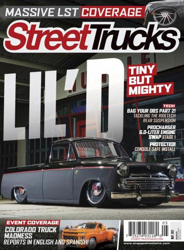 Street Trucks Magazine May 1st, 2021 Issue Cover