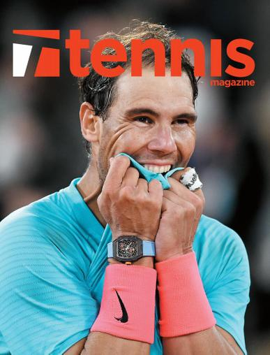 Tennis Magazine January 1st, 2021 Issue Cover