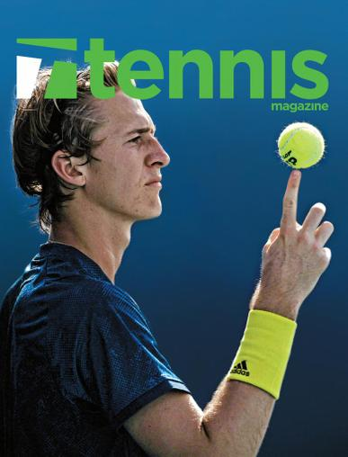 Tennis Magazine July 1st, 2021 Issue Cover