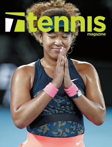 Tennis Magazine May 1st, 2021 Issue Cover