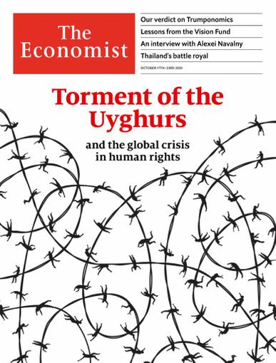 The Economist Magazine October 17th, 2020 Issue Cover