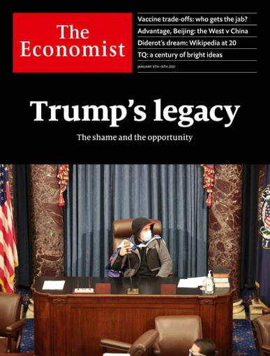 The Economist Magazine January 9th, 2021 Issue Cover