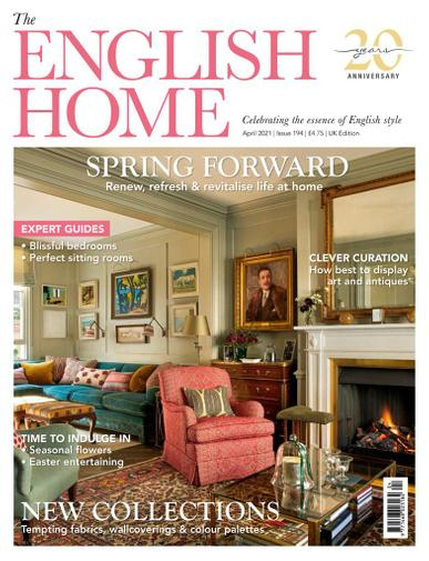 The English Home Magazine April 1st, 2021 Issue Cover