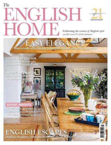 The English Home Magazine July 1st, 2021 Issue Cover
