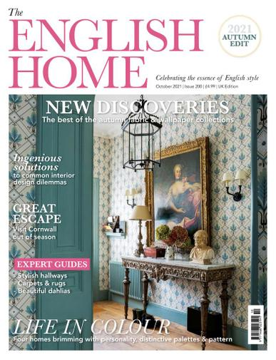 The English Home Magazine October 1st, 2021 Issue Cover