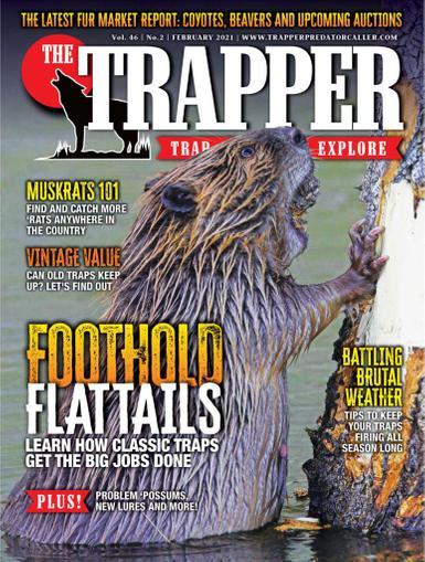 Trapper & Predator Caller Magazine February 1st, 2021 Issue Cover