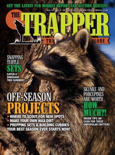 Trapper & Predator Caller Magazine May 14th, 2021 Issue Cover