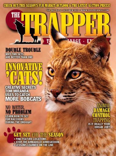 Trapper & Predator Caller Magazine October 1st, 2021 Issue Cover