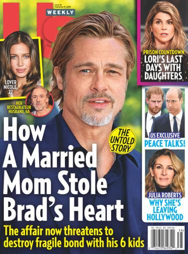 Us Weekly Magazine September 21st, 2020 Issue Cover