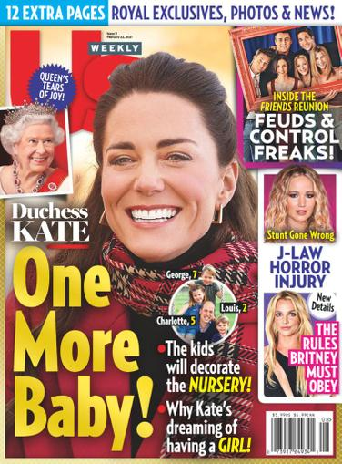 Us Weekly Magazine February 22nd, 2021 Issue Cover