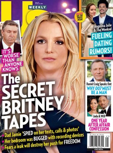Us Weekly Magazine October 11th, 2021 Issue Cover