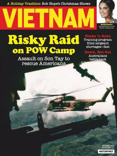 Vietnam Magazine December 1st, 2020 Issue Cover