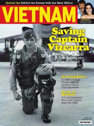 Vietnam Magazine August 1st, 2021 Issue Cover