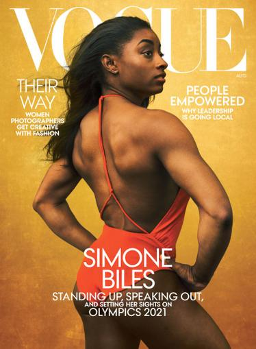 Vogue Magazine August 1st, 2020 Issue Cover
