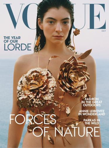 Vogue Magazine October 1st, 2021 Issue Cover