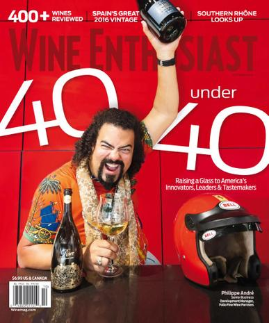Wine Enthusiast Magazine October 1st, 2021 Issue Cover