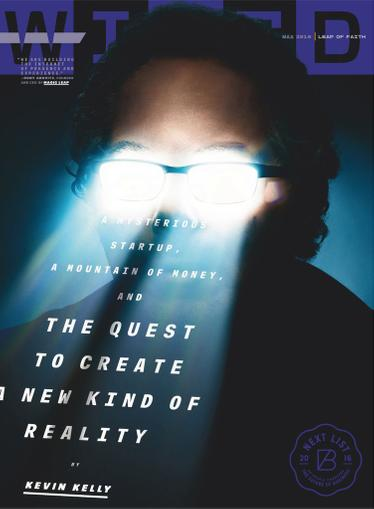 Wired Magazine April 19th, 2016 Issue Cover
