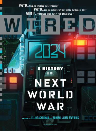 Wired Magazine February 1st, 2021 Issue Cover
