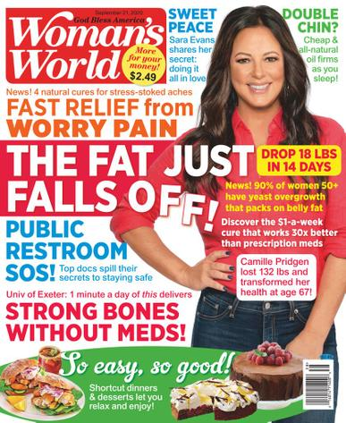 Woman's World Magazine September 21st, 2020 Issue Cover