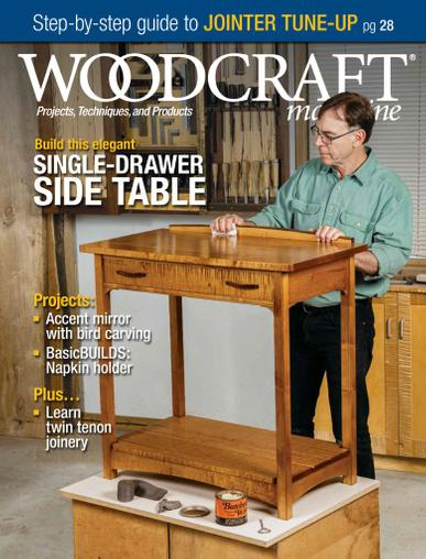 Woodcraft Magazine August 1st, 2020 Issue Cover
