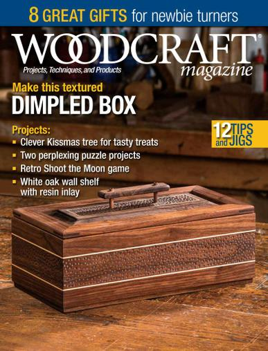 Woodcraft Magazine December 1st, 2020 Issue Cover