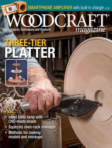 Woodcraft Magazine August 1st, 2021 Issue Cover