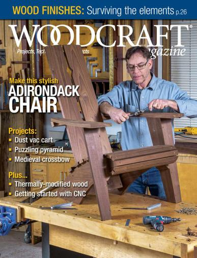 Woodcraft Magazine June 1st, 2021 Issue Cover