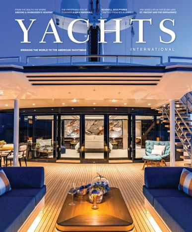 Yachts International Magazine March 15th, 2021 Issue Cover