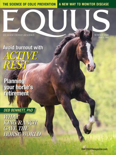 Equus Magazine May 18th, 2020 Issue Cover