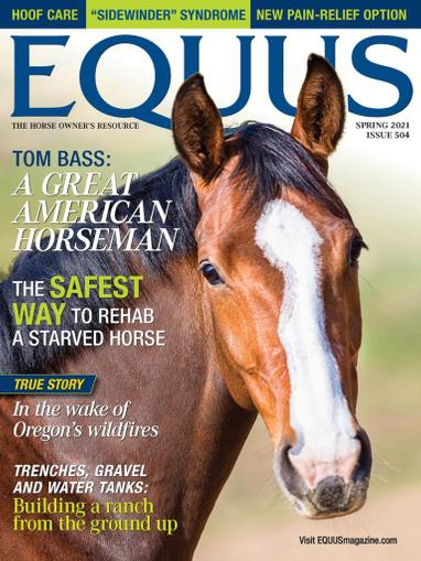Equus Magazine March 15th, 2021 Issue Cover