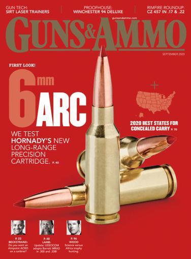 Guns & Ammo Magazine September 1st, 2020 Issue Cover
