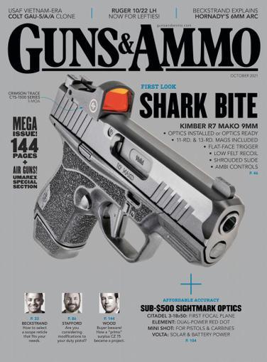 Guns & Ammo Magazine October 1st, 2021 Issue Cover