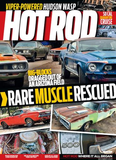 Hot Rod Magazine December 1st, 2020 Issue Cover