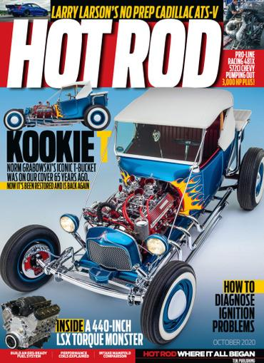 Hot Rod Magazine October 1st, 2020 Issue Cover