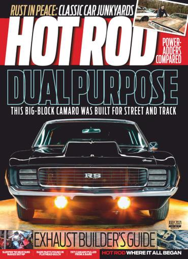 Hot Rod Magazine July 1st, 2021 Issue Cover