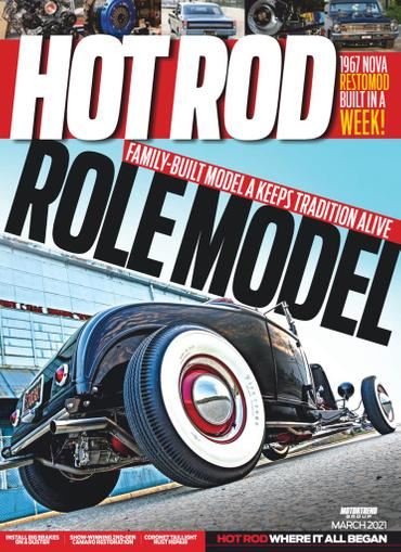 Hot Rod Magazine March 1st, 2021 Issue Cover