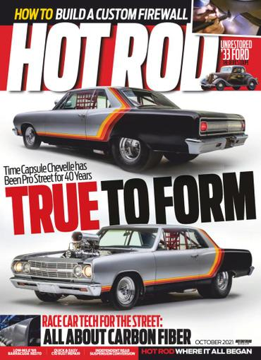 Hot Rod Magazine October 1st, 2021 Issue Cover