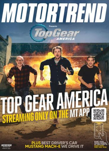 Motor Trend Magazine March 1st, 2021 Issue Cover