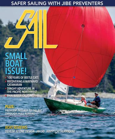 SAIL Magazine June 1st, 2021 Issue Cover