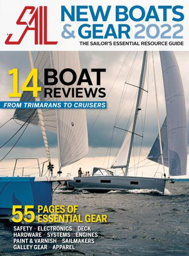 SAIL Magazine September 15th, 2021 Issue Cover