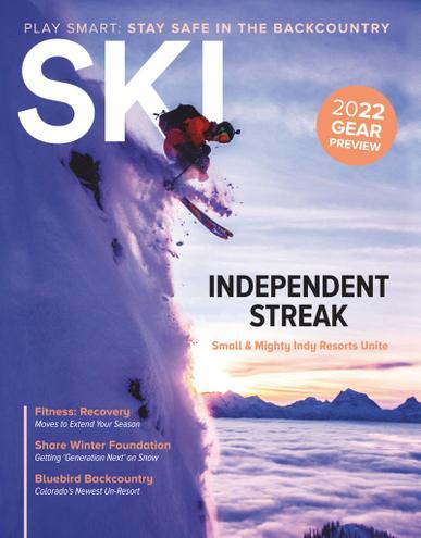 SKI Magazine January 1st, 2021 Issue Cover