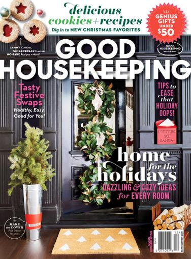 Good Housekeeping Magazine December 1st, 2020 Issue Cover