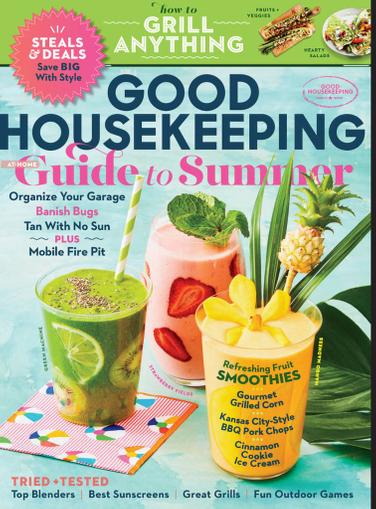 Good Housekeeping Magazine July 1st, 2020 Issue Cover