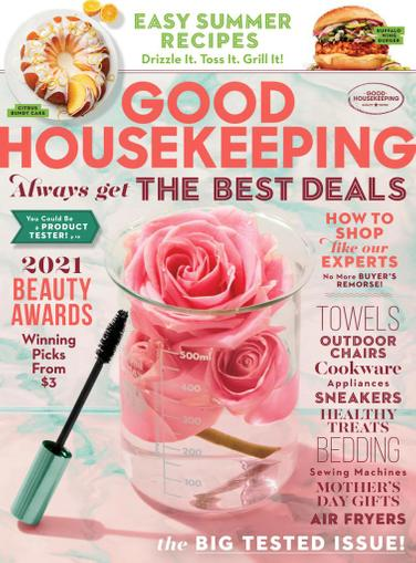 Good Housekeeping Magazine May 1st, 2021 Issue Cover