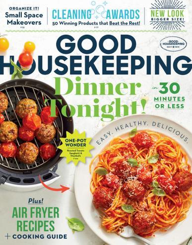 Good Housekeeping Magazine September 1st, 2021 Issue Cover