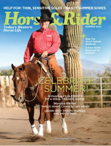 Horse & Rider Magazine May 11th, 2020 Issue Cover