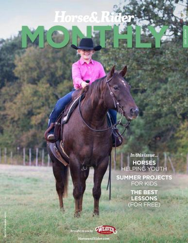 Horse & Rider Magazine August 1st, 2021 Issue Cover