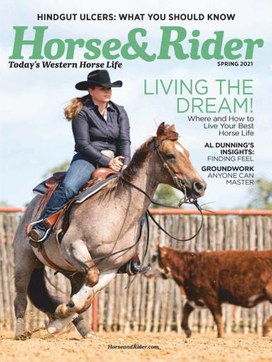 Horse & Rider Magazine February 15th, 2021 Issue Cover